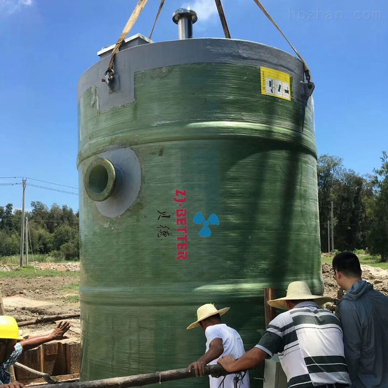 玻璃钢一体化预制泵站设备