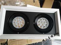 三雄极光PAK564080 2x15W星际LED格栅射灯
