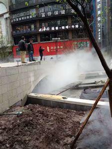 重庆广场干雾抑尘设备