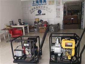 小型移动便携式柴油机自吸水泵