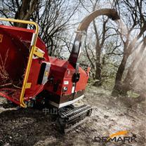 履带式树枝粉碎机 园林绿化垃圾破碎机
