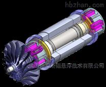 格尼斯主动式磁悬浮轴承系统