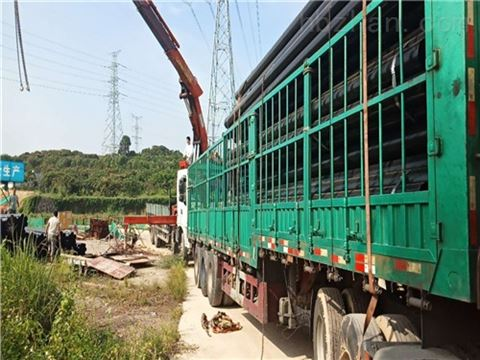 电力穿线用热浸塑管生产厂家