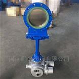PZ973N电动聚氨酯刀型闸阀