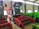 SL1.8米自走式全株玉米秸秆青贮收割机