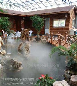 淮安旅游景点人造雾设备工程