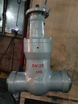 高溫高壓電動焊接閘閥