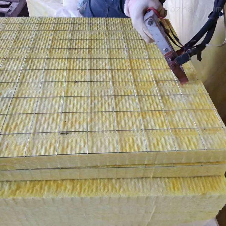 1200*600外墙防火钢网插丝岩棉板厂家