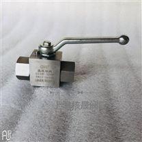 不鏽鋼絲扣高壓球閥Q11F-320P
