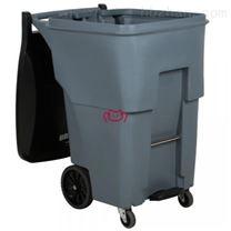 美国Rubbermaid带踏板及万向轮可推式垃圾桶