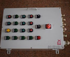 BXK-T现场机旁防爆按钮箱 防爆操作箱
