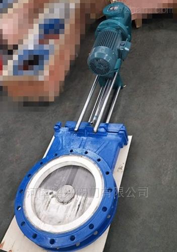 电液动陶瓷插板阀