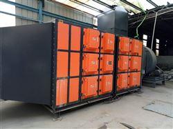 橡胶厂油雾废气回收净化装置,橡胶废气处理