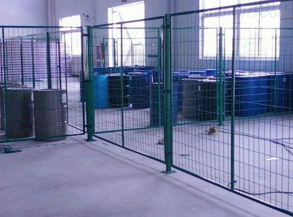 车间金属隔离防护栅栏