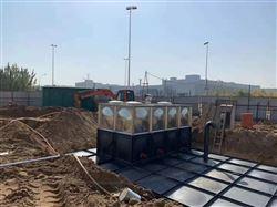 容积960m³地埋式箱泵一体化设计方案