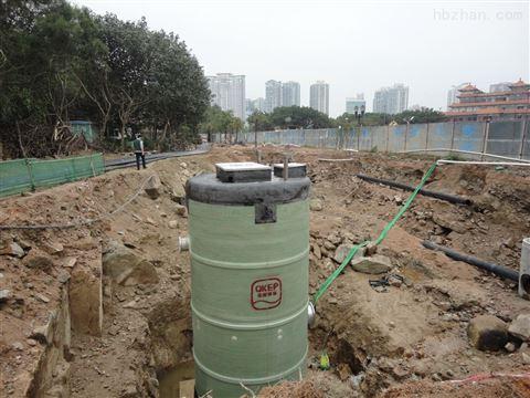 贵州贵阳市污水处理设备一体化预制泵站安装