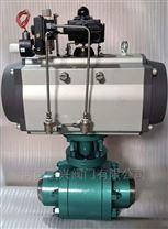 氣動高壓焊接鍛鋼球閥