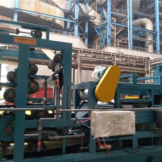 双网带式污泥压滤脱水机打桩污泥处理