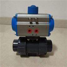 Q611F-10S气动UPVC塑料球阀