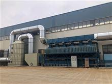 厂家定制马鞍上废气处理活性炭催化燃烧装置
