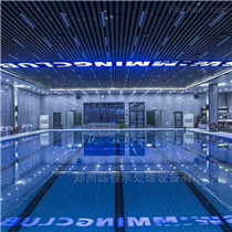 室内恒温游泳池,一体化游泳池设备厂