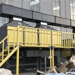 全套涂料工业废气净化系统