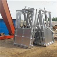 钢制闸门机闸一体式900*900