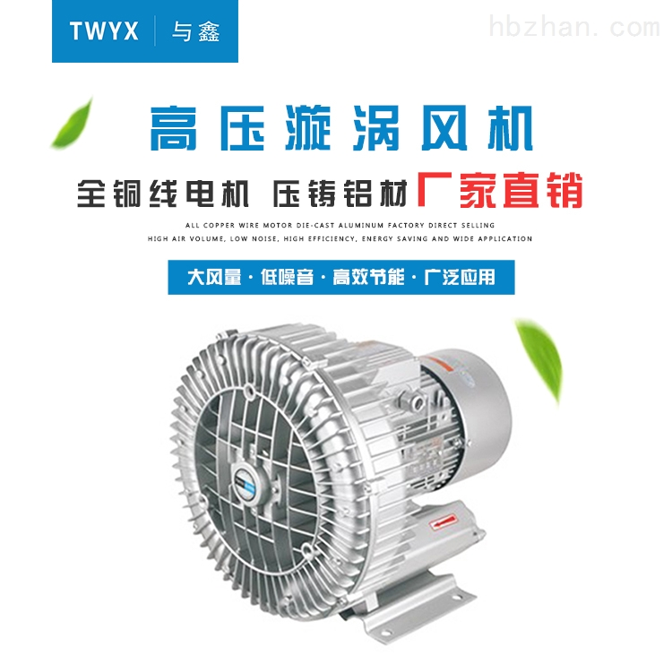 泡沫成型系统配套双叶轮旋涡气泵