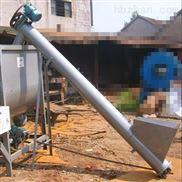 大管径U型螺旋提升机  粉末料双轴螺旋输送机