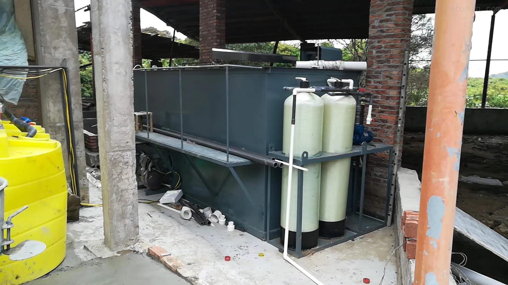 湖北武汉养猪场污水处理效果