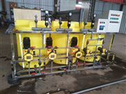 FL-JY-005-撬裝式三桶五泵循環水加藥裝置廠家