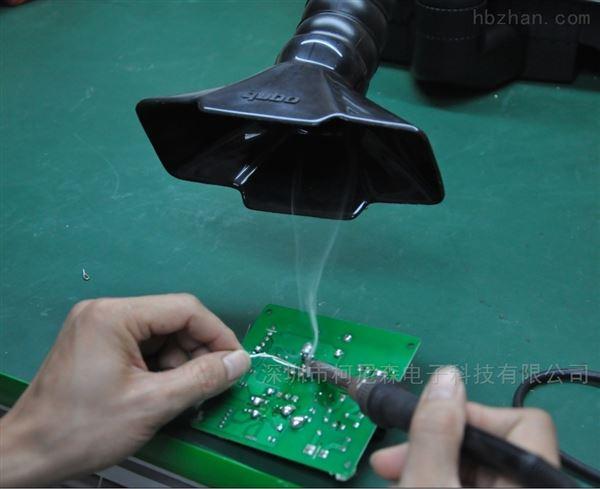 流水线焊锡抽烟机车间焊锡废气烟尘净化机