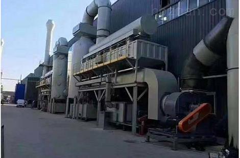 化工廠廢氣收集