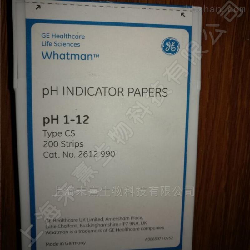 GE Whatman PH试纸