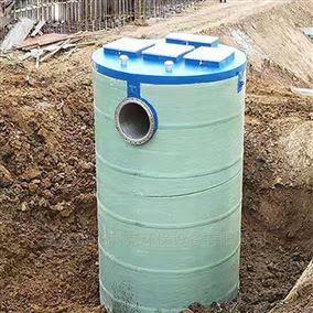 重庆长寿区地埋式一体化提升泵站污水处理