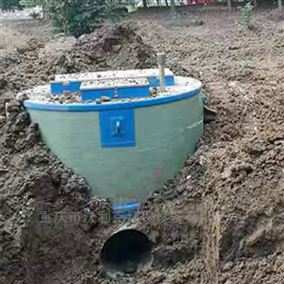 地埋玻璃钢预制提升泵站