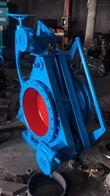 F343CX蜗轮扇形盲板閥