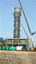 砖厂烟气酸雾净化塔 碳钢防腐脱硫塔