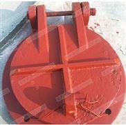 河北旺键铸铁拍门 不锈钢拍门 dn600