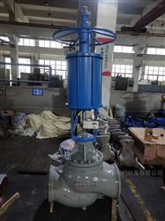 ZSQP气动活塞式焊接调节阀