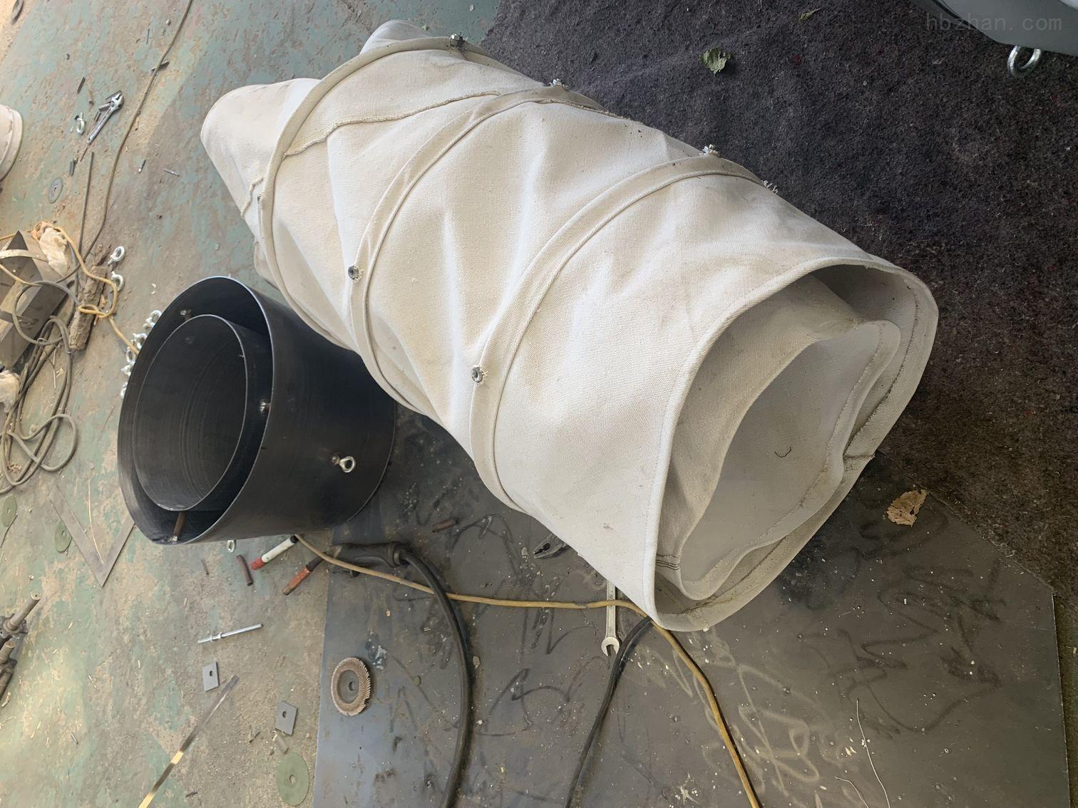 除尘散装机耐磨帆布水泥布袋