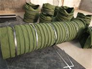 耐磨除尘伸缩式卸料口水泥布袋