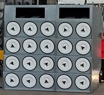 20000风量滤筒除尘器需要多少个滤芯脉冲阀