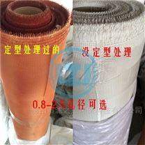 耐高温铝水过滤网 棕色定型滤网 白色软布