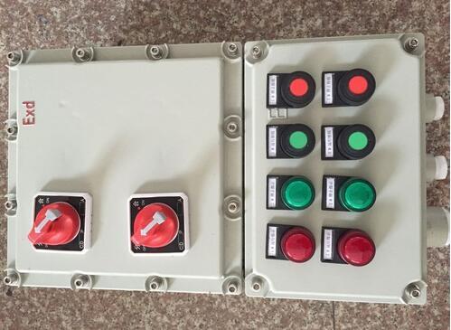 户外挂式安装防爆检修照明配电箱