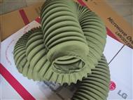 伸缩式防尘耐高温通风管应用