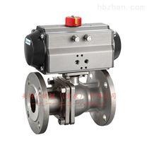 Q641F重慶不鏽鋼氣動法蘭球閥,氣動閥門