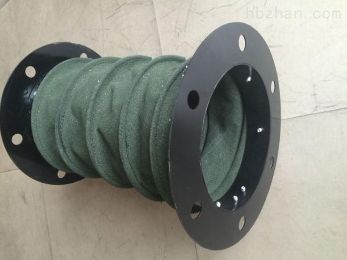 帆布伸缩式耐高温除尘软连接