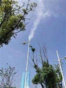 随州市灯杆喷雾-智慧城市路灯喷雾设备报价
