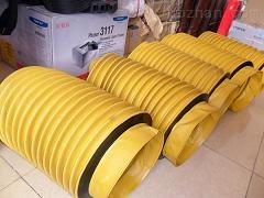 耐高温伸缩式硅胶通风管厂家